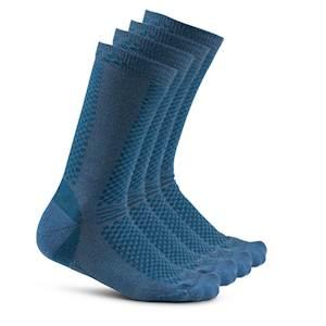Craft - Ponožky CRAFT Warm 2-pack černá d93ca040cf