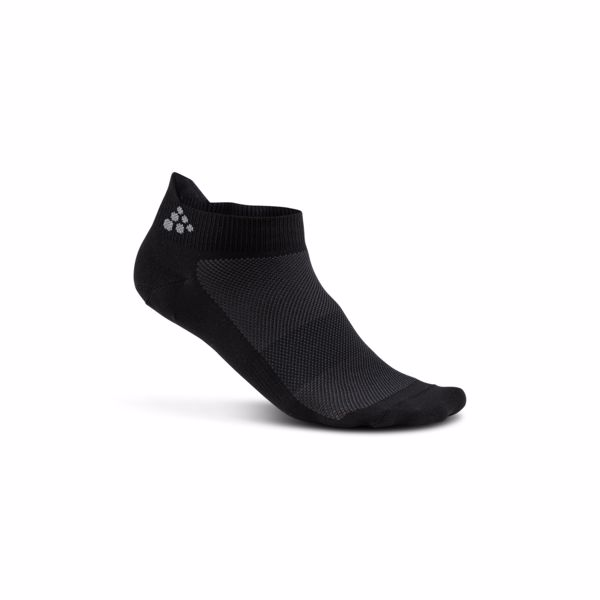 Craft - Ponožky CRAFT Shaftless 3-pack černá 630d1bddbb